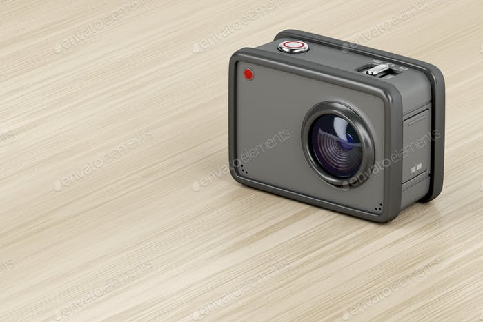 Digital action camera