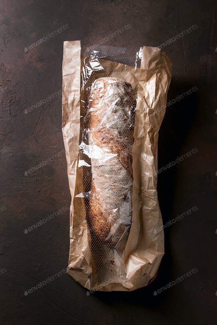 Artisan ciabatta bread