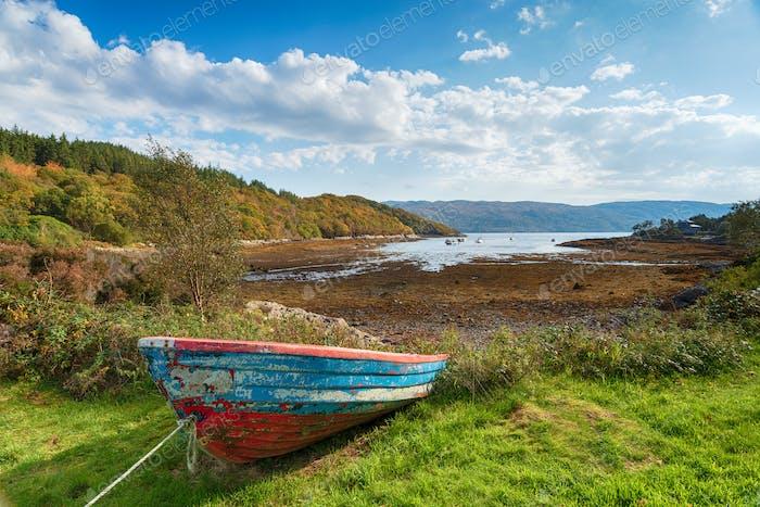 Loch Sunart in Scotland