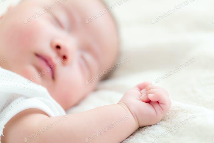 Asian baby sleep