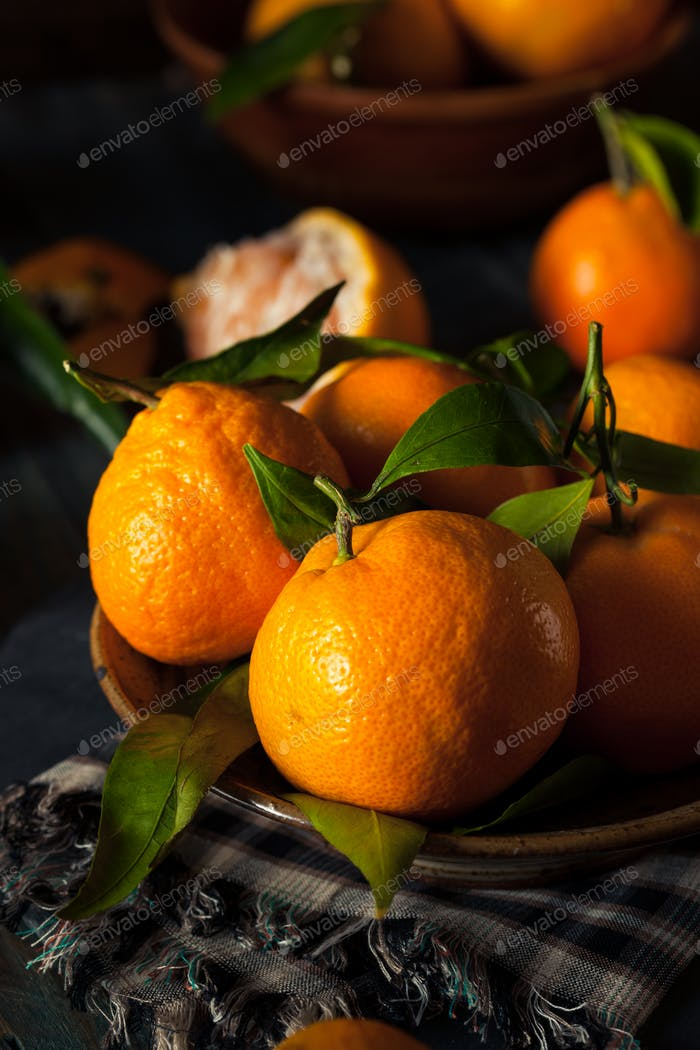 Raw Organic Satsuma Oranges