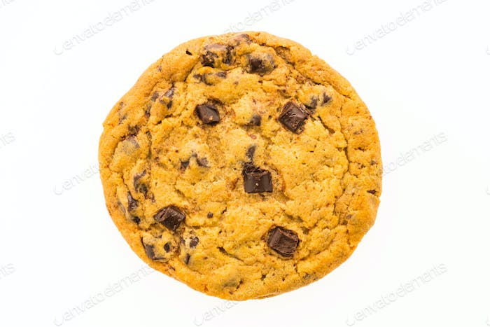 Chocolate chips cookies and bitscuit