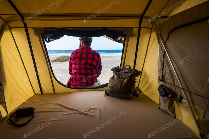 Tent free camping wild lifestyle