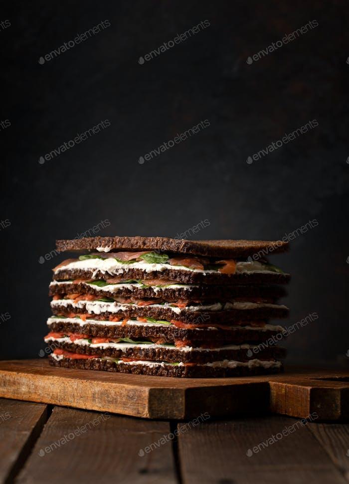 Salmon Cake