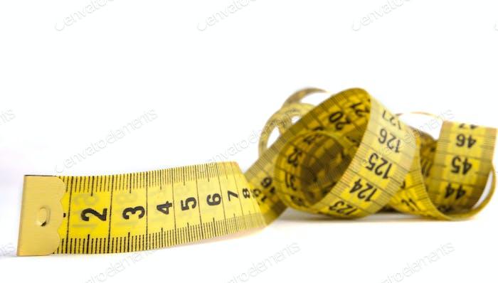 Measuring Yellow Tape