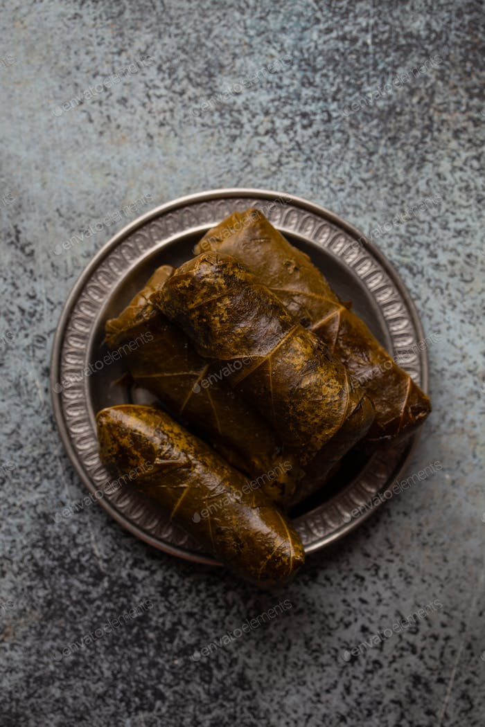 Middle eastern and Mediterranean traditional dish dolma