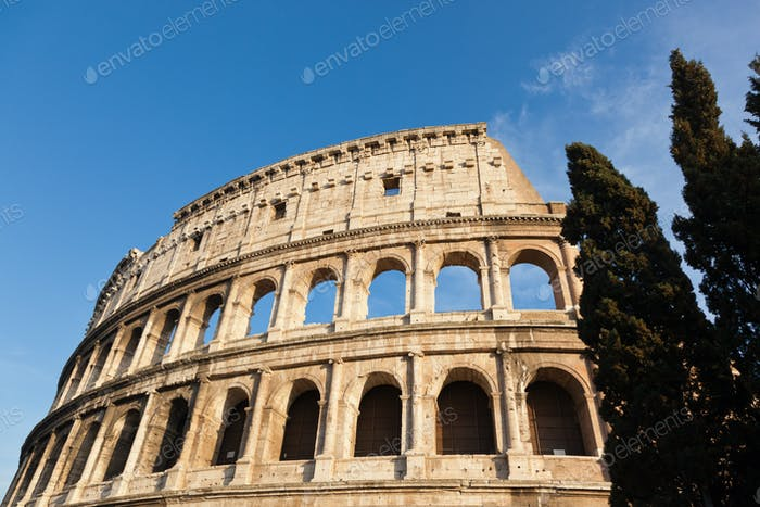 Thumbnail for The legendary ancient Colosseo or Colosseum, Roma, Italy.