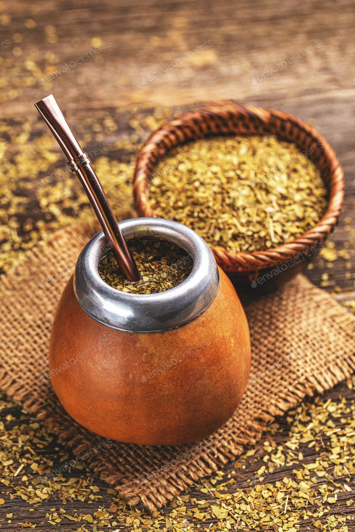 South American yerba mate tea