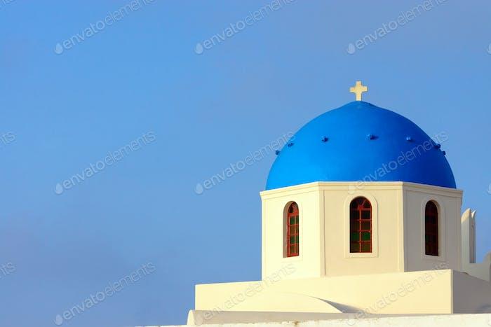 Church in Oia, Santorini