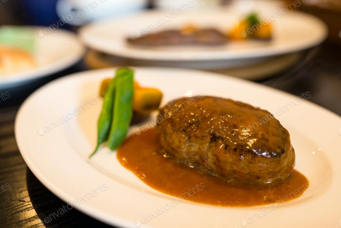 Burger-Steak