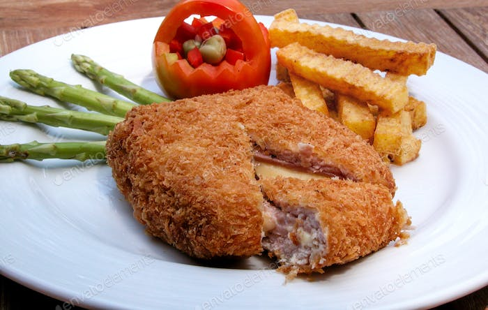 Cordon Bleu with French Fried