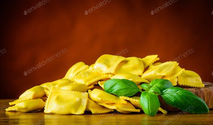 Yellow Ravioli Pasta