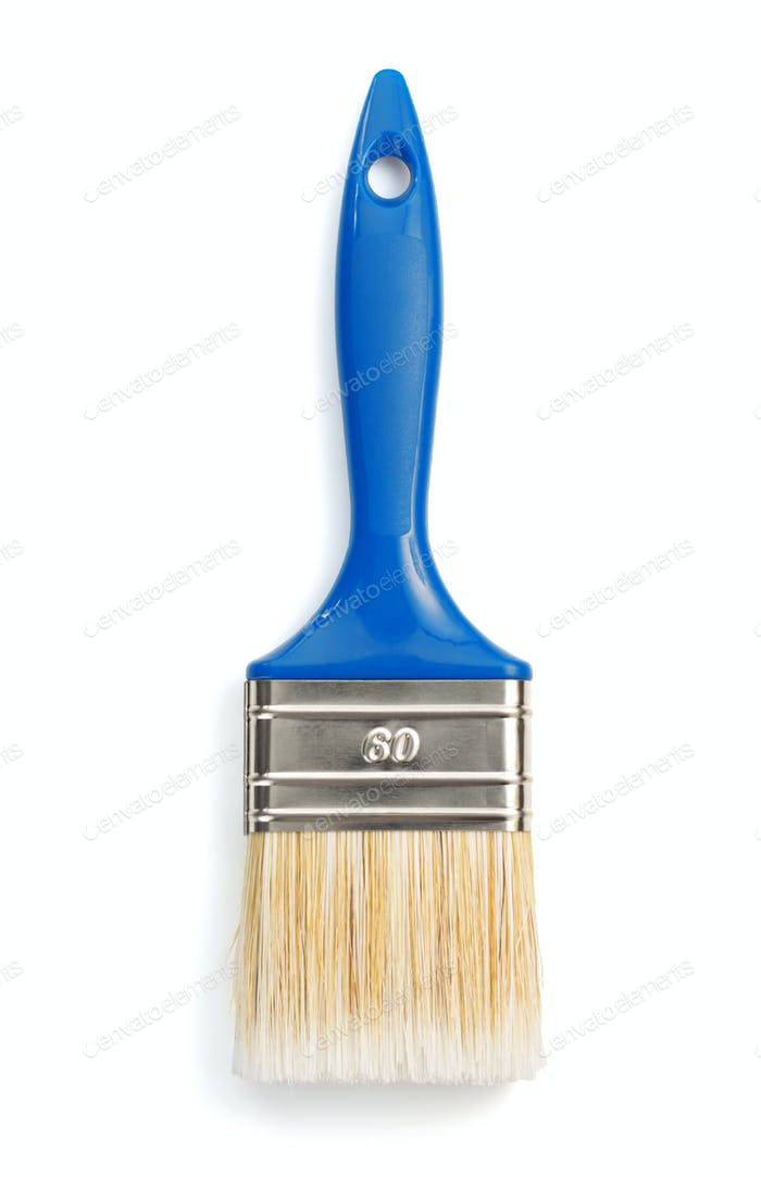 paintbrush isolated on white