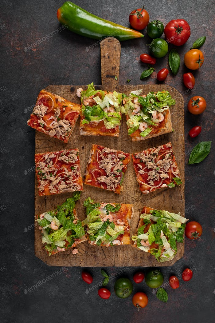 Pizzascheiben