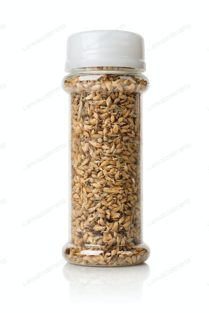Utsho Suneli in a jar