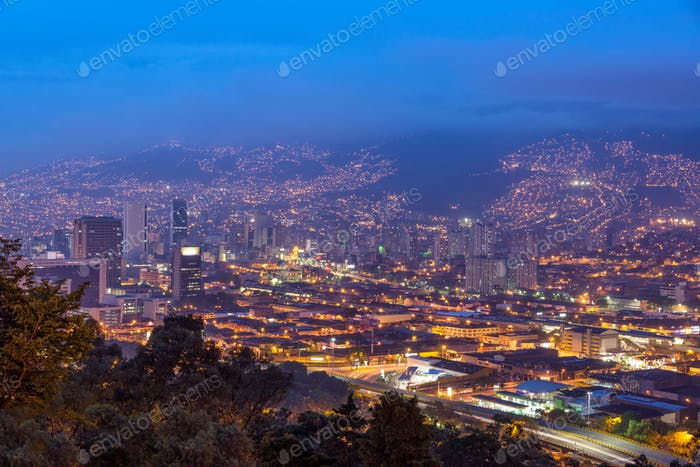 Medellin Cityscape