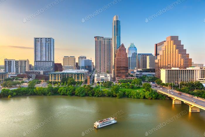 Austin, Texas, USA Skyline