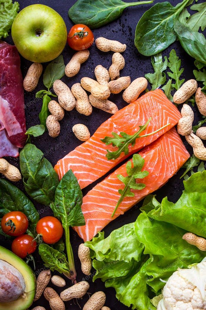 Gesunde Ernährung Konzept