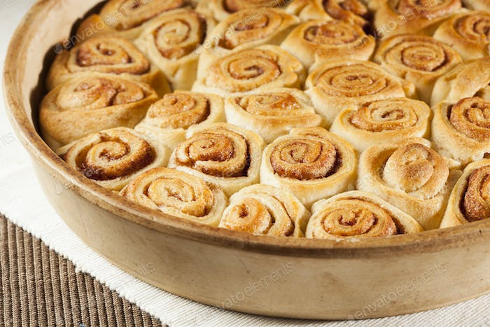 Homemade Mini Cinnamon Rolls