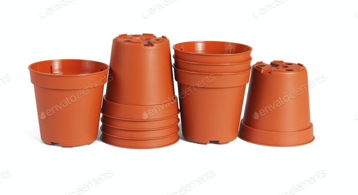 Mini Plastic flower Pots