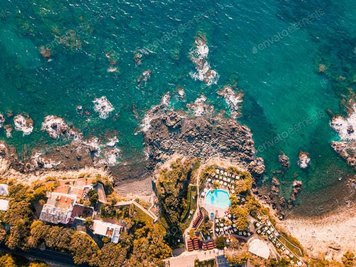 Holiday on the Sea in Resort on the Cliff