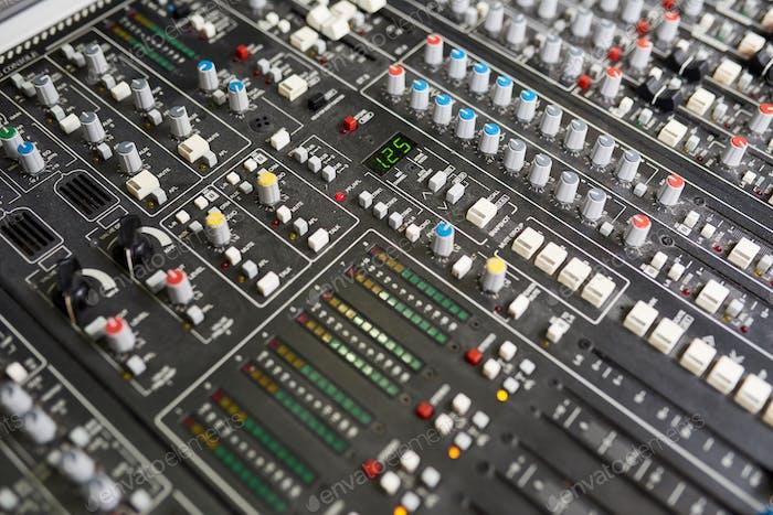 Professional music control board