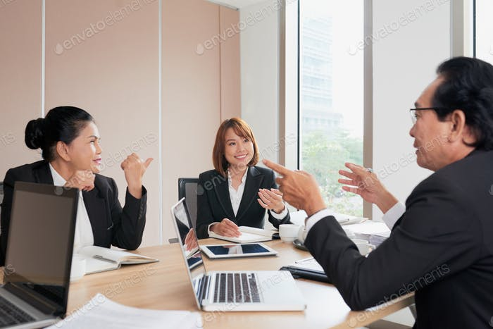 Brainstorming-Sitzung