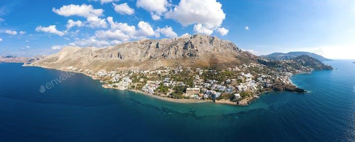 Panorama von Kalymnos, Griechenland