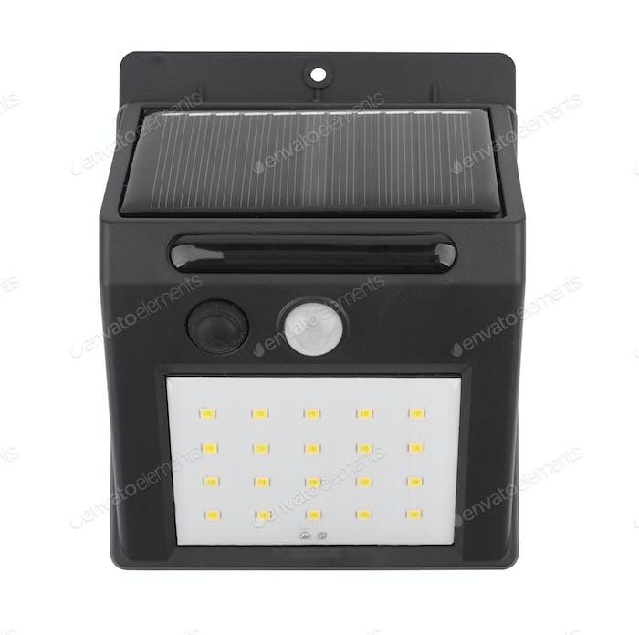 night light with solar battery