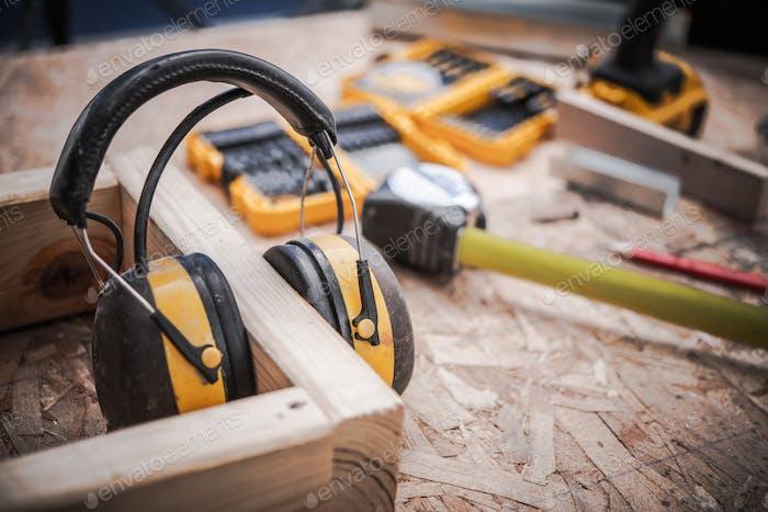 Ear Muffs Woodwork Safety