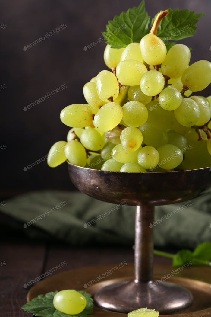 Ripe Organic Grapes