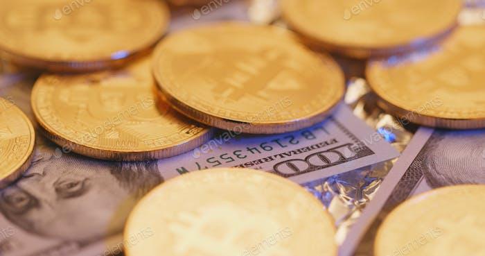 Bitcoin y USD