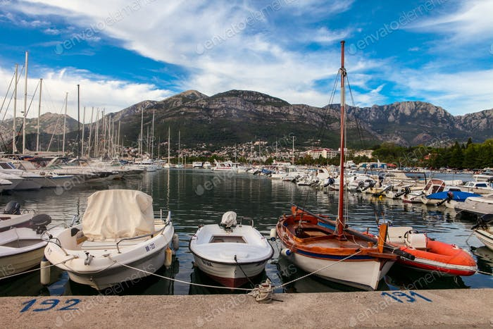 Seaport in Montenegro