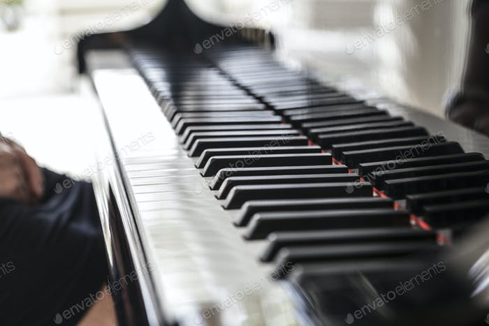 Beautiful Black Piano