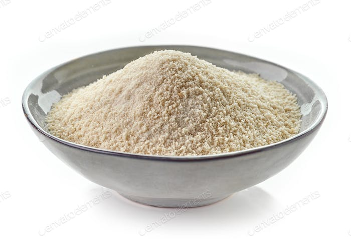 bowl of breadcrumbs
