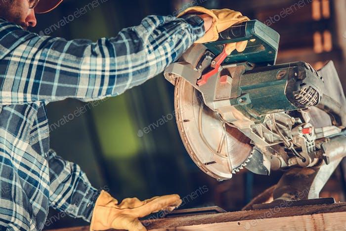 Circular Saw Wood Work