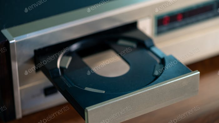 Загрузка компакт-диска