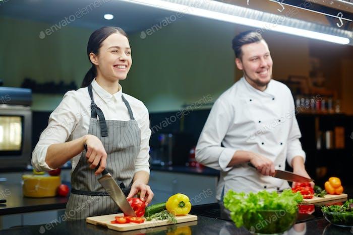 Cozinhar em grupo