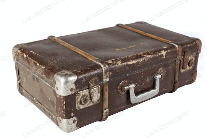 Isolated Suitcase
