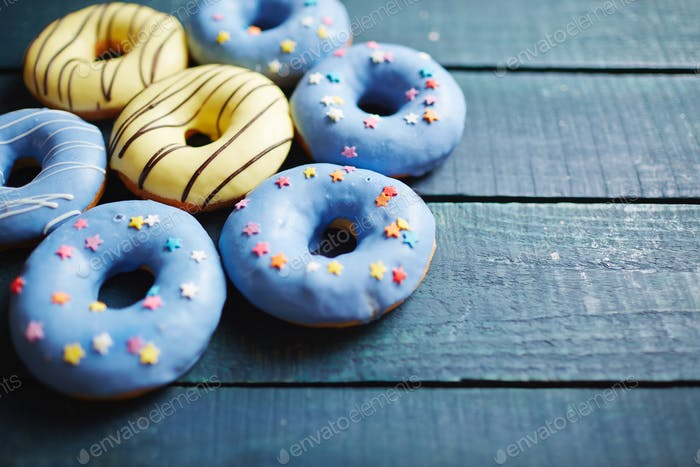 Donuts dulces