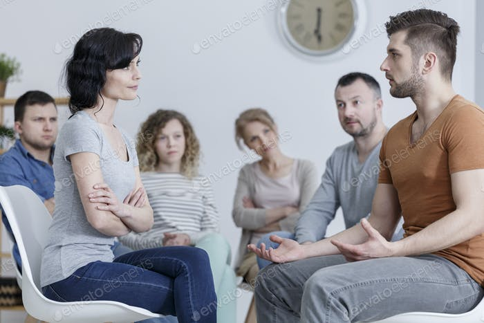 Marriage counseling session