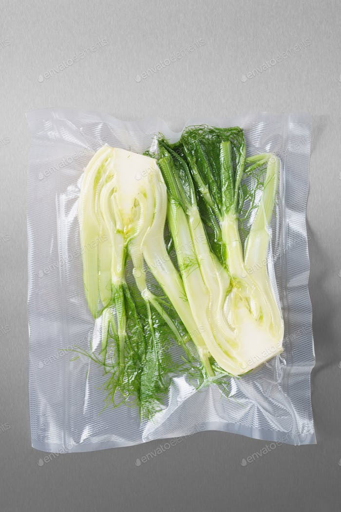 Vacuum sealed fennel