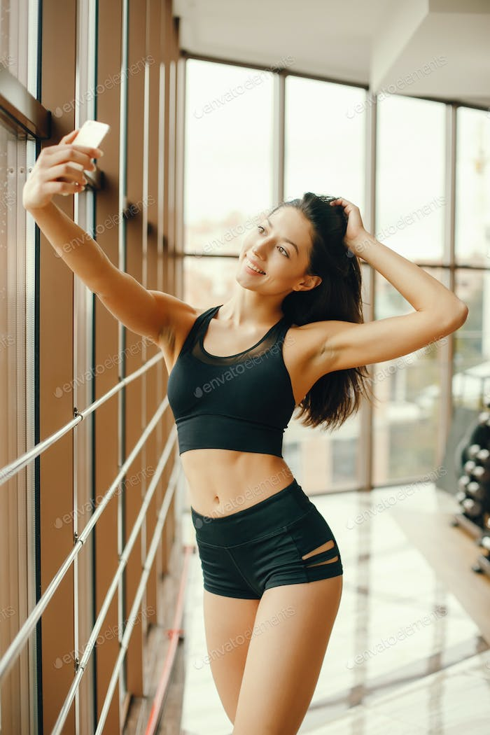 girl in a gym