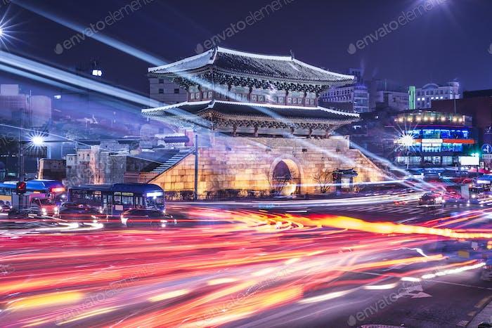Stadtbild von Seoul