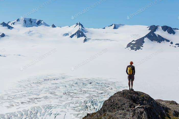 Sortie glacier