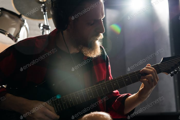 Bearded Guitarist