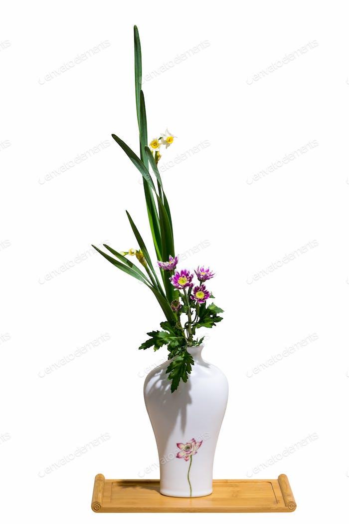 Blumenarrangement isoliert