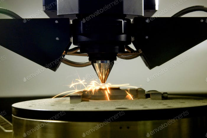 3D printer for metal