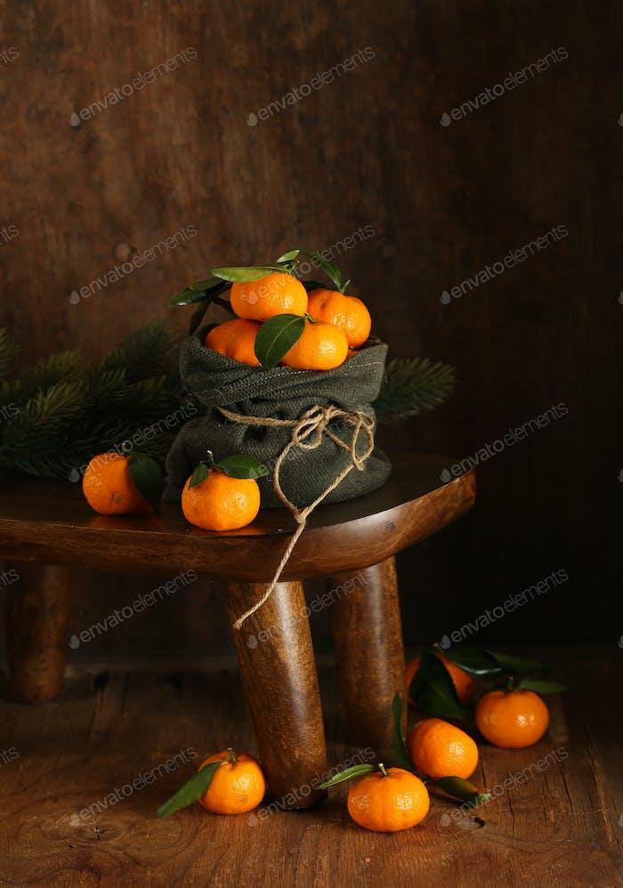 Bio Natürliche Mandarinen