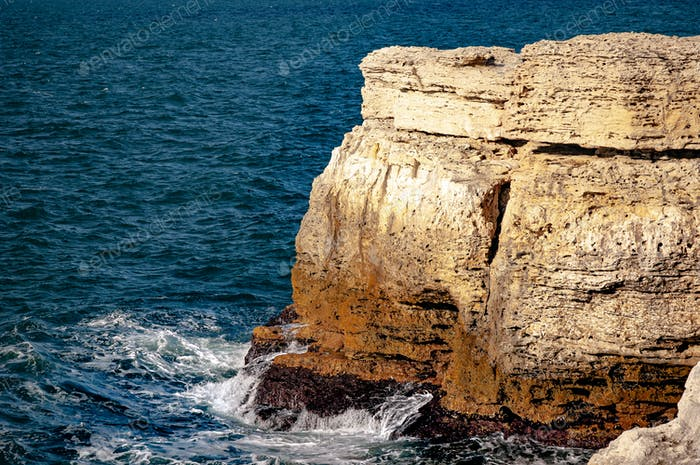 Rocky coast of the Black Sea